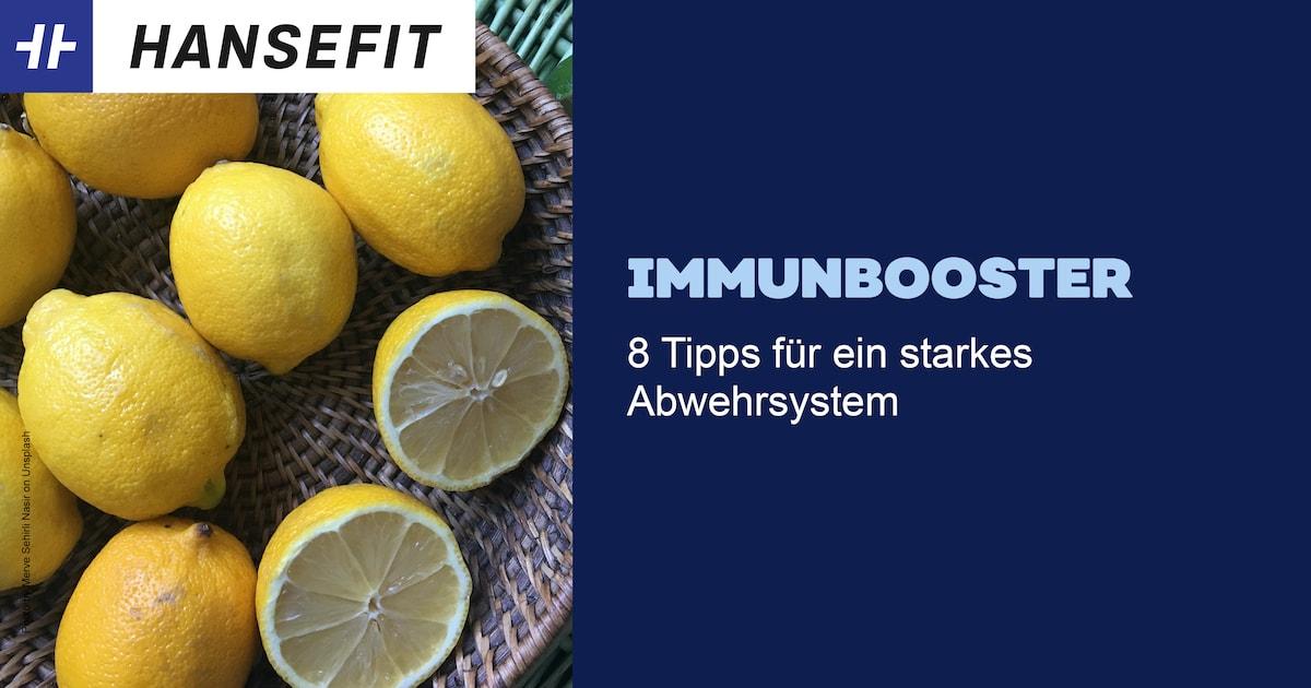 Teaserbild Zitronen Immunbooster Schriftzug